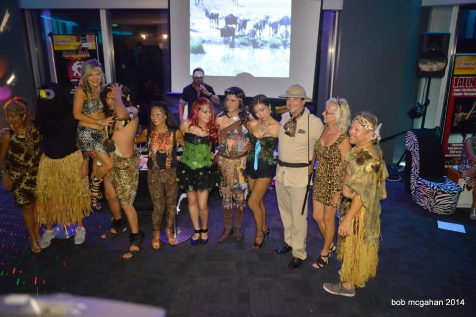 Q1 Party Safari Theme